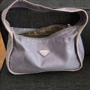 Prada Shoulder Bag (authentic) in Lilac nylon